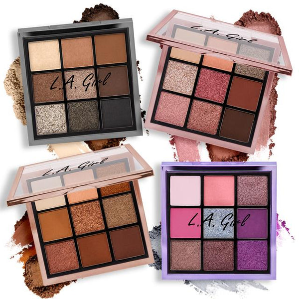 GES433-436: LA Girl Keep It Playful Eyeshadow palette Wholesale-Cosmetichoilc