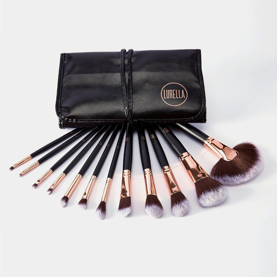 Lurella LBS-ZY02 Stay Glam 12 Pieces Brush Set Cosmetic Wholesale-Cosmeticholic