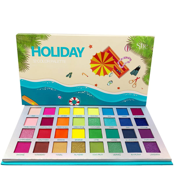 SH-SP06 : Holiday-32 Color Palette 6 PC