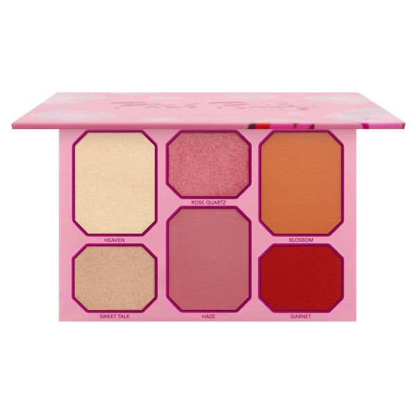 AM-COPRFD : Pink Ruby Blush & Highlighter Palette 6 PC