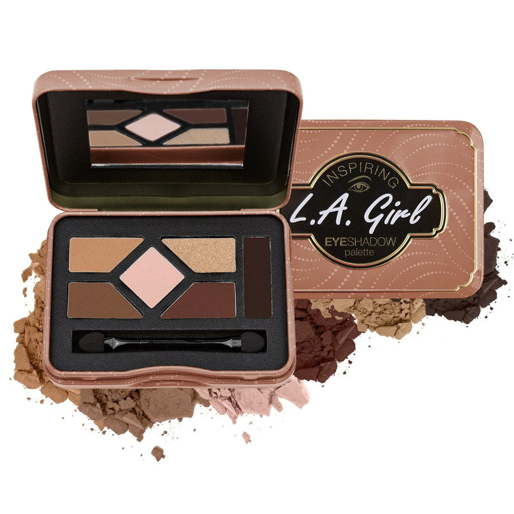 L.A. Girl Inspiring Eyeshadow Palette GES335 Naturally Beautiful wholesale cosmetic-Cosmeticholic