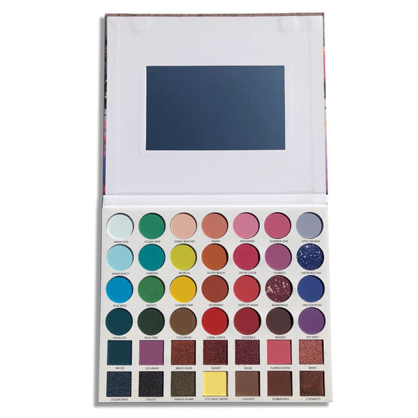 PR-K634 : Miami 42 Color Eyeshadow Palette 6 PC