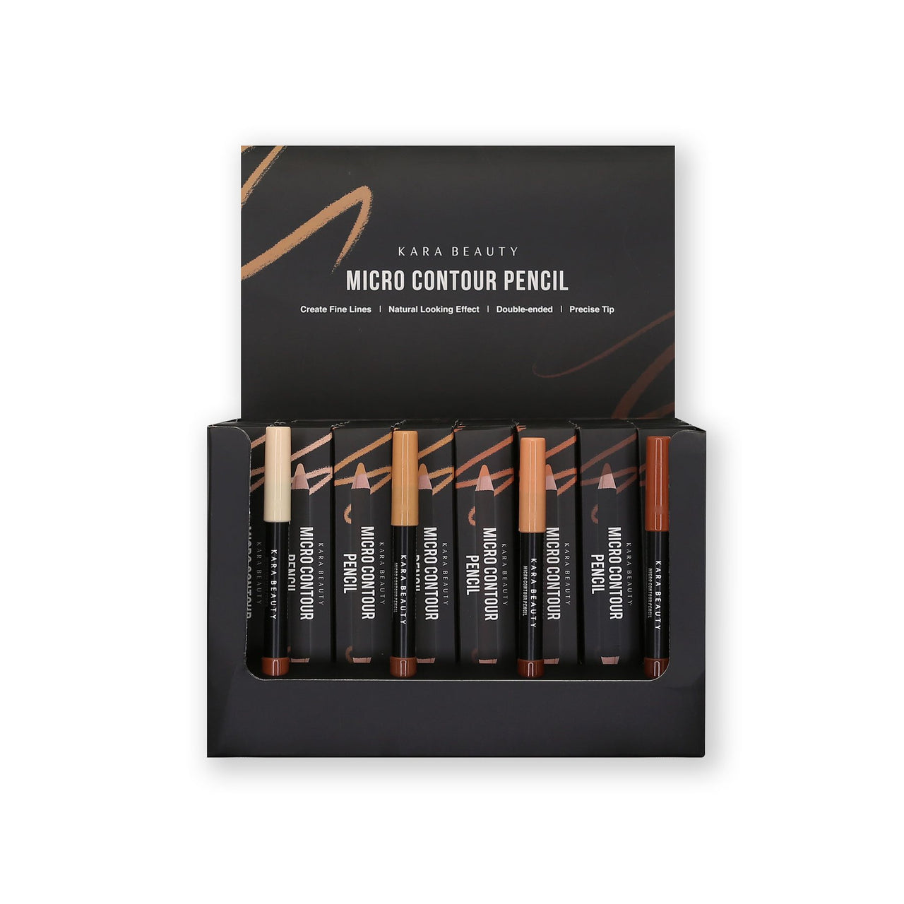 KR-CPSET : Micro Contour Pencil Set 4 DZ