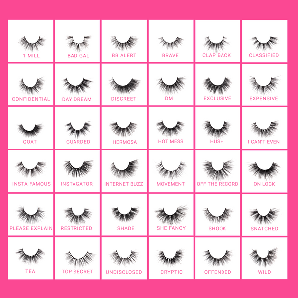 BC-ML :  Faux Mink Lashes 36 Styles -  10 PC