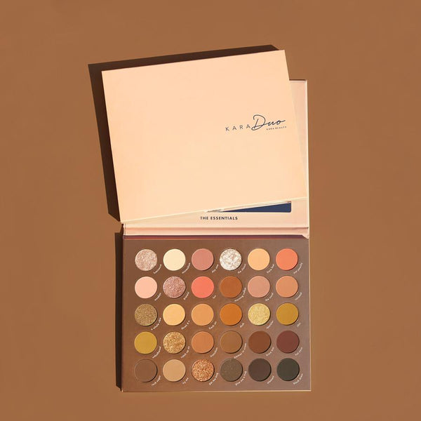 KR-PRO12 : 'The Essentials' 30 Color Shadow Palette 6 PC