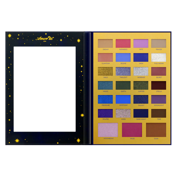 Amorus TMESD : The Moon 27 Shade Pressed Pigment Palette Wholesale-Cosmeticholic