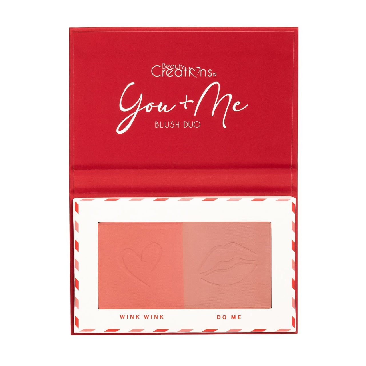 Beauty Creations BV2 Valentine You + Me Blush Duo Cosmetic Wholesale-Cosmeticholic
