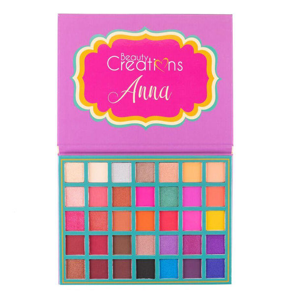 Beauty Creations Anna 35 Color Eyeshadow Palette Wholesale-Cosmeticholic