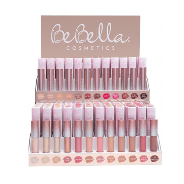 BBDLS Be Bella Luxe Lipgloss Lipstick Set with Testers Cosmetic Wholesale-Cosmeticholic