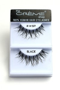 Human Hair Eyelashes #WSP-1DZ Pack