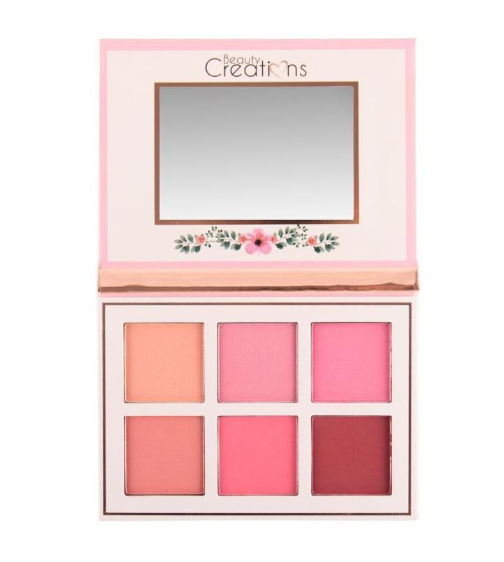 BF01 : Beauty Creations Floral Bloom Blush Palette Wholesale-Cosmeticholic