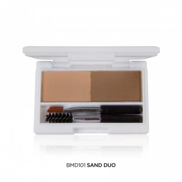 BMD101 Sand Duo J Cat Brow-Mazing Duo Eyebrow Kit Wholesale-Cosmeticholic