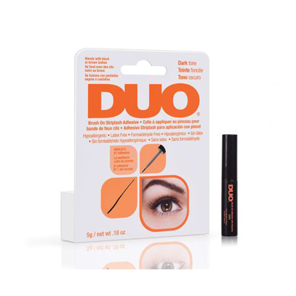 DUO-56896 : Brush On Striplash Adhesive Dark Tone 6 PC