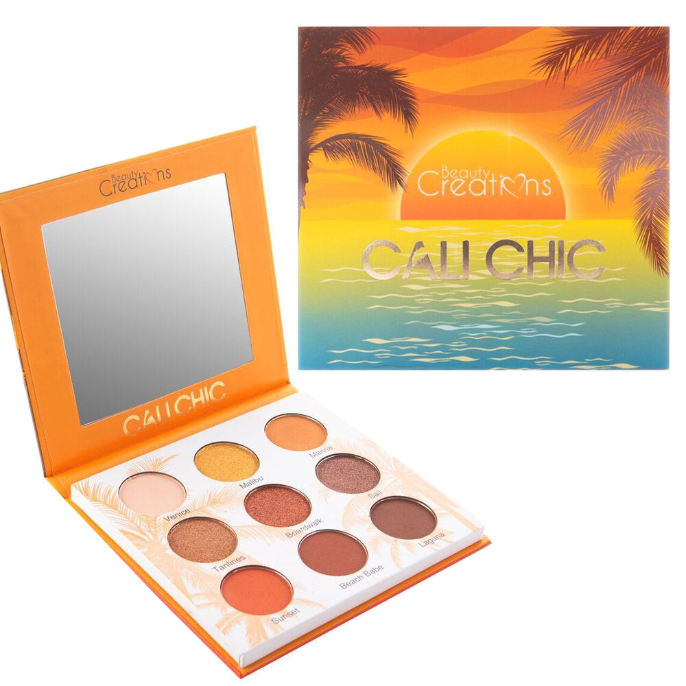 B9CA : Beauty Creations Cali Chic Eyeshadow palette Wholesale-Cosmeticholic