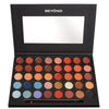 "BD-CEP01 :  ""Challenge"" 40 Colors Shimmer & Matte Highly Pigment Eyeshadow Palette 3 PC"