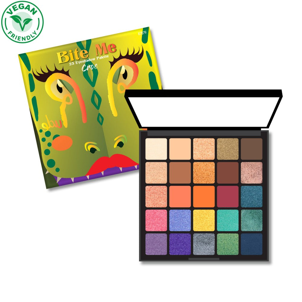 RU-87879 : Bite Me 25 Eyeshadow Palette - CROC 6 PC