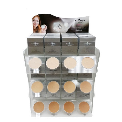 Matte Two Way Powder Display, 144 PC +12 Tester