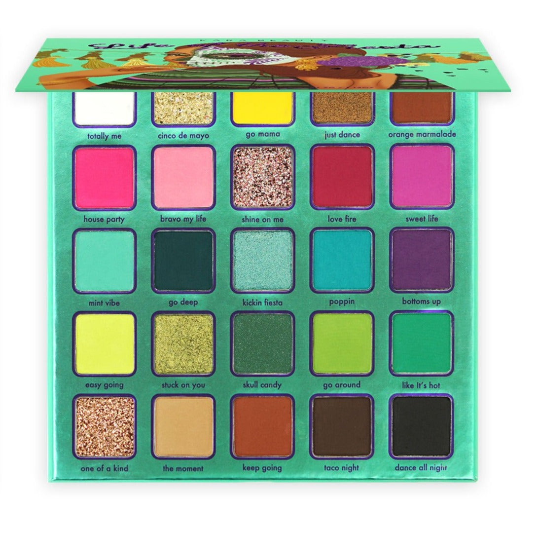 ES97 Kara Life Of The Fiesta Eyeshadow Palette Wholesale-Cosmeticholic