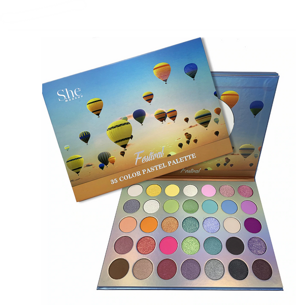 SH-SP15 : Festival-35 Color Pastel Palette 6 PC