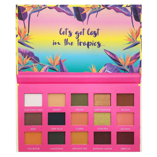 ITA-15HT1 : Hot Tropic 1-15 Colors Palette 6 PC