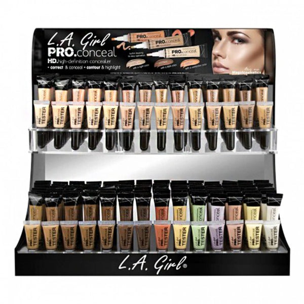 LA Girl HD Pro Conceal Concealer Display Set GCD241.1 Wholesale-Cosmeticholic