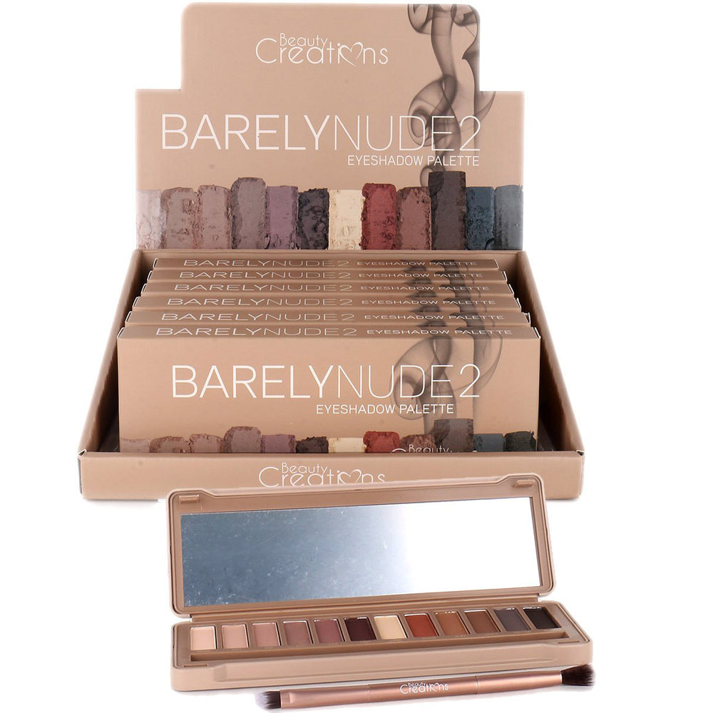 Beauty Creations Barely Nude Eyeshadow Palette E12BN-B Wholesale-Cosmeticholic