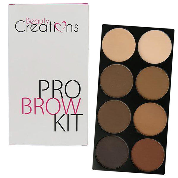BC-BPK : Pro Brow Kit Palette 6PC