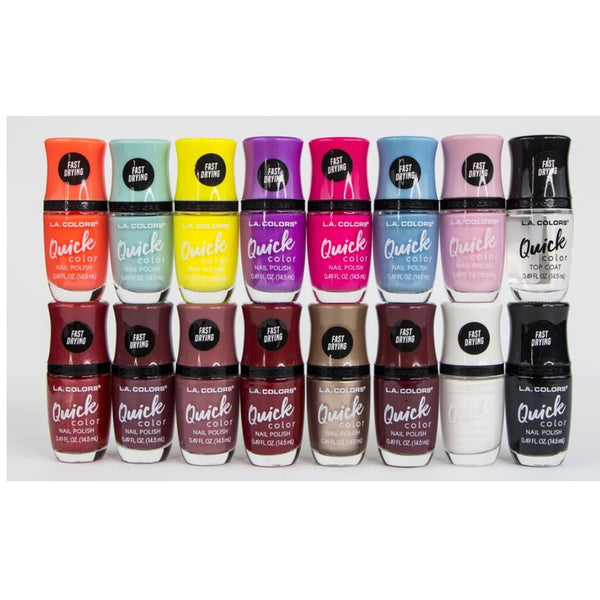 LAC-CNN311~326 : Quick Color Fast Drying Polish 3 PC