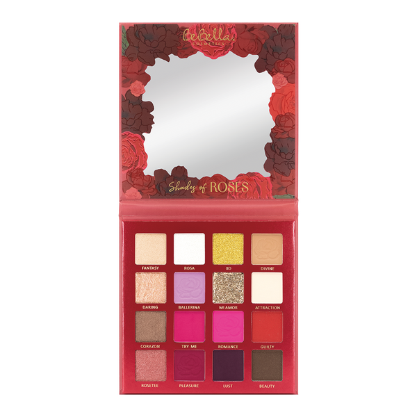 BE16A : BeBella Shades of Roses Eyeshadow Palette Wholesale-Cosmeticholic