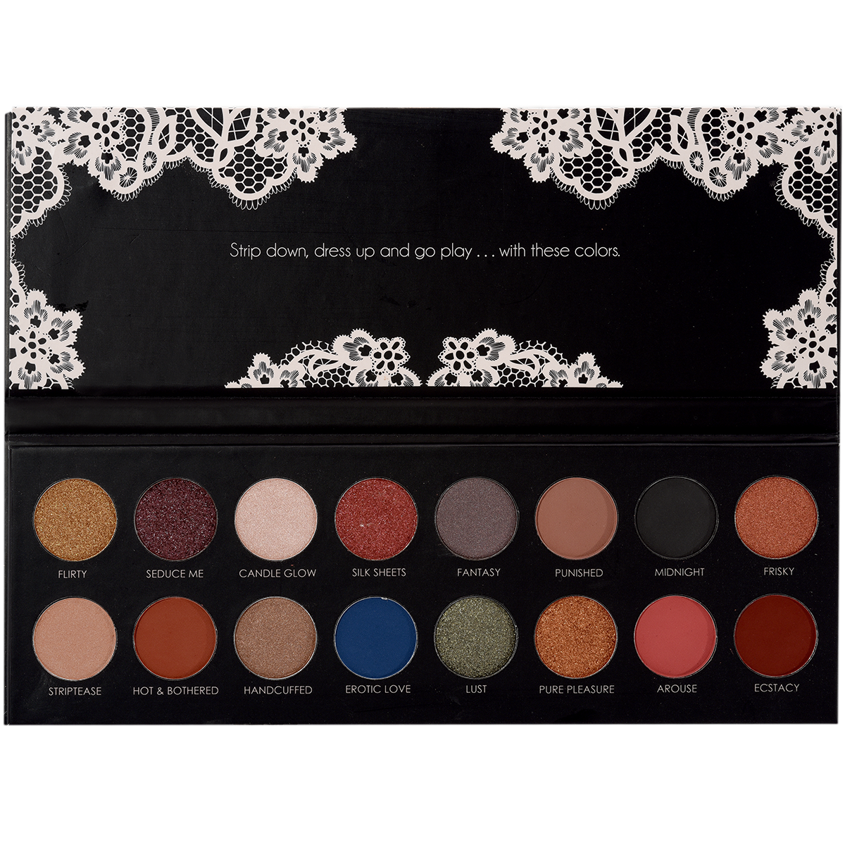 ITA-2016-2 : Sinfull Eyes-Role Play 16 Colors Palette 6 PC