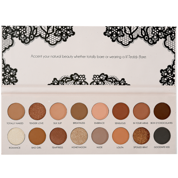 ITA-2016-1 : Sinfull Eyes-Tedy Bare 16 Colors Palette 6 PC