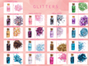 Beauty Creations 18 Colors Glitter Collection Volume 2 Cosmetic Wholesale-Cosmeticholic