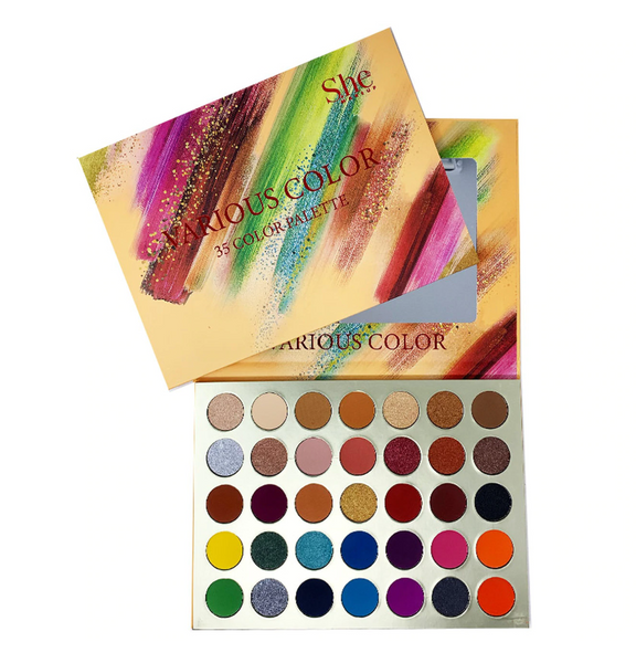 SH-SP13 : Various Color 35 Shadow Palette 6 PC