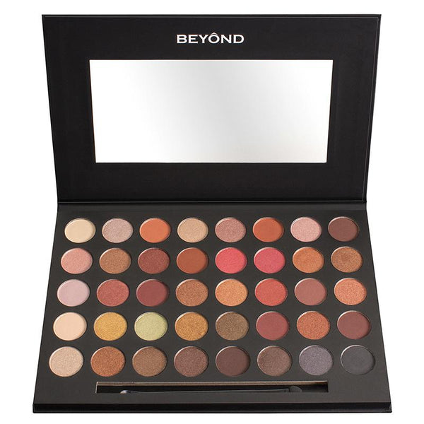 "BD-VEP01 : ""Vintage"" 40 Colors Shimmer & Matte Highly Pigment Eyeshadow Palette 3 PC"