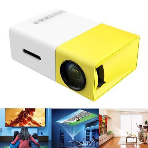 Elegance Store Projector Lumihd™ Ultra-Portable Led Mini Projector W/1080P Full HD Support