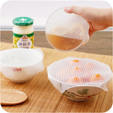 4x Kitchen Silicone Reusable Vacuum Food