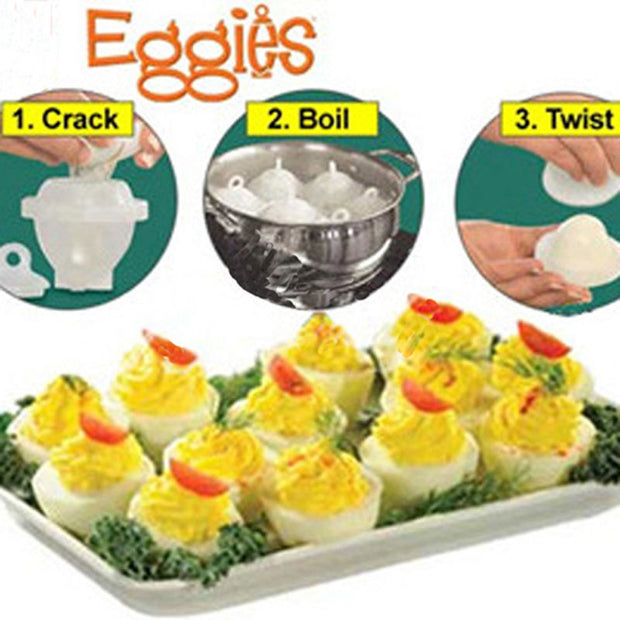 Egg Cooker Set 6 Pcs.