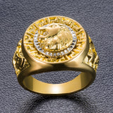 Gold Ring Lion Hot Sale