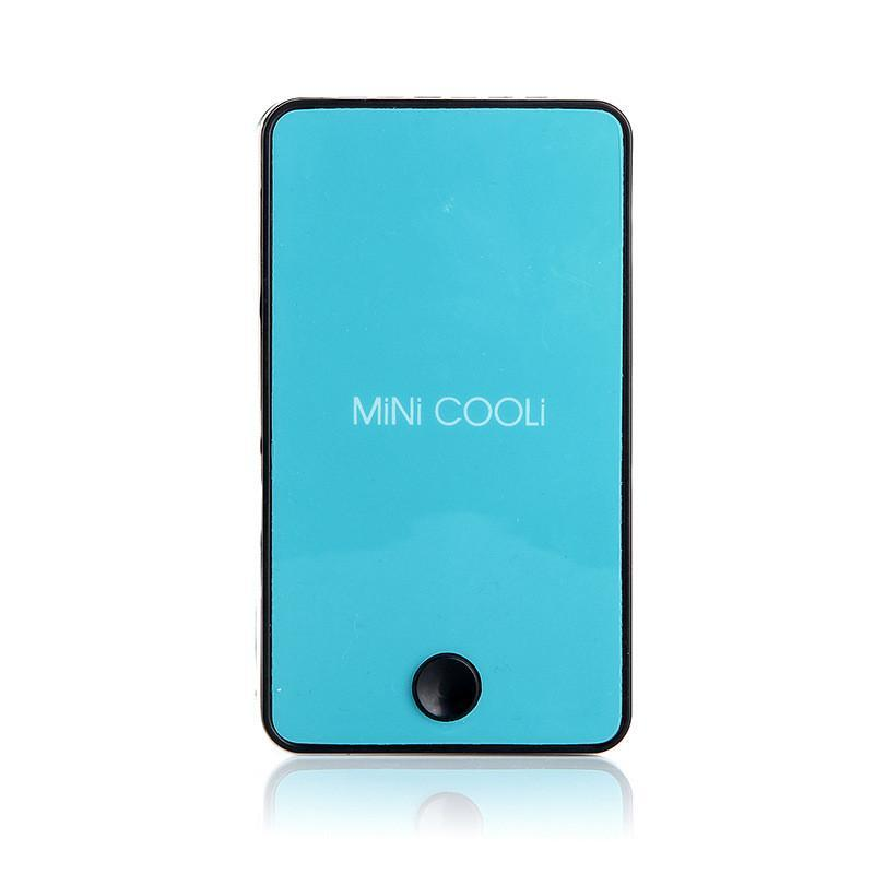 The Elegance Store Air Conditioner 2- mini Blue Mini Palm Air Conditioning Fan