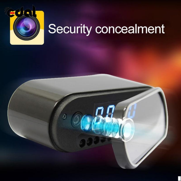 The Elegance Store Alarm Camera EUR specification Smart Alarm Camera Clock