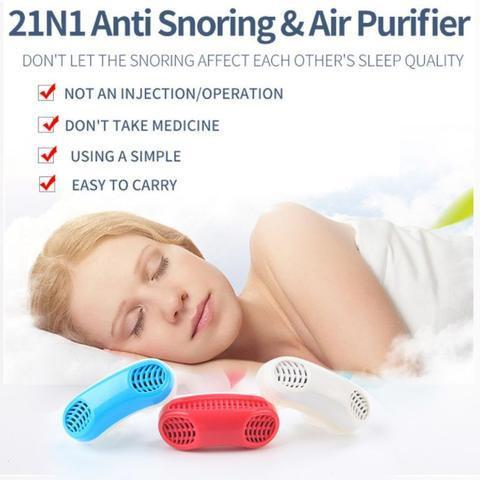 The Elegance Store Anti Snore Anti Snore Device: Sleep Aid