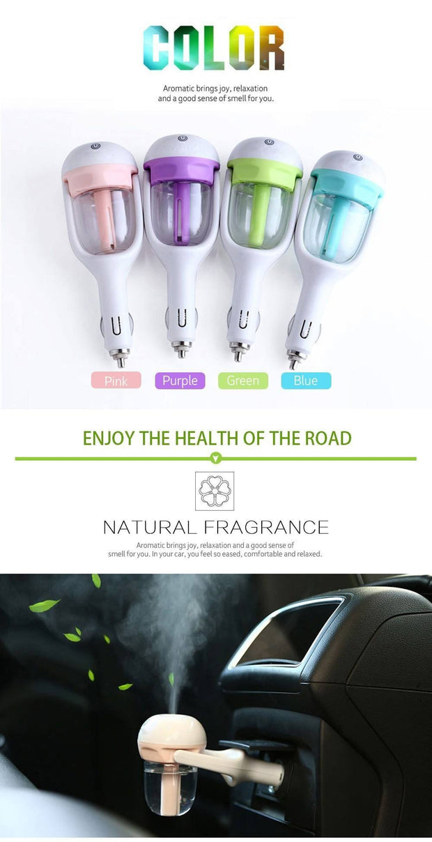 The Elegance Store Aromatherapy Red / 1 Piece 50% Off Aromatherapy Car Diffuser