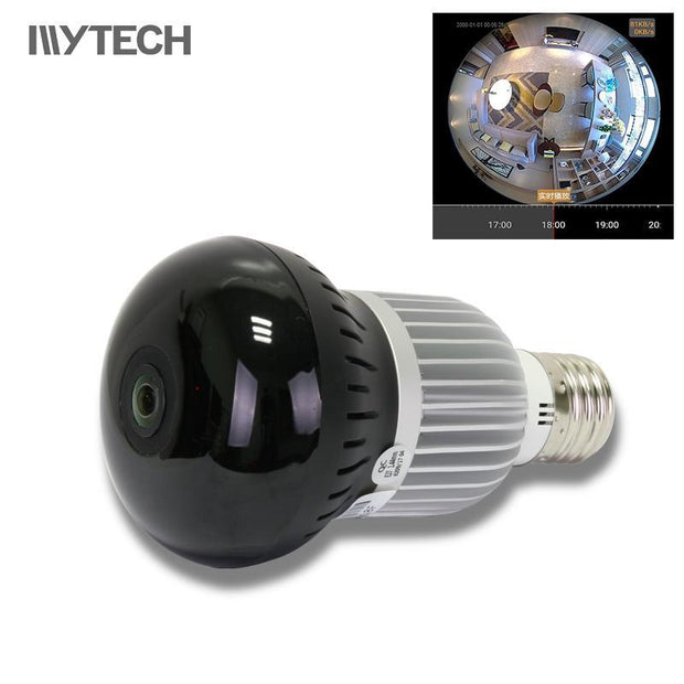 The Elegance Store camera Wifi Light Bulb Security Camera
