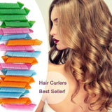 "The Elegance Store curler Easy To Use ""No Heat"" Hair Curler!"