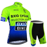 The Elegance Store Cycling Set No Bibs / 3XL Hot Cycling Kit Bxio Cycling
