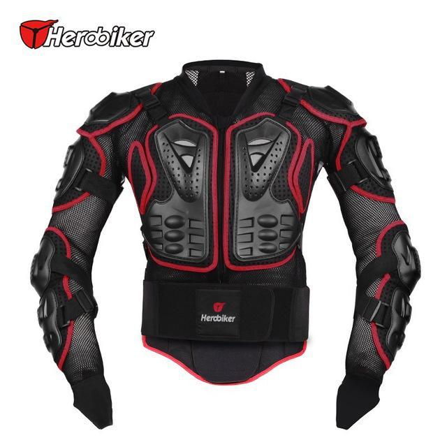 The Elegance Store jacket Red / M Body Armor Jacket