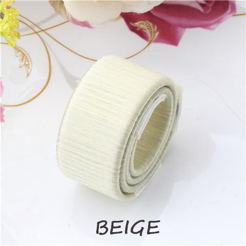 The Elegance Store Magic French 1 Piece 50% Off / Beige Magic French Twist Hair Bun Maker