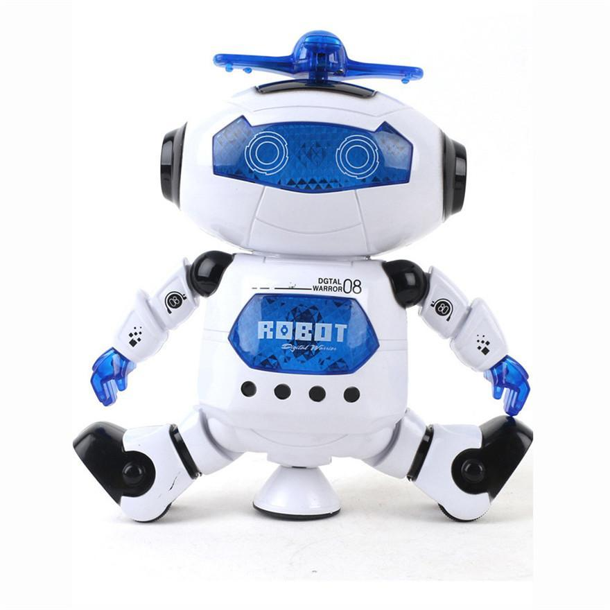 The Elegance Store NEW Robot, Electronic Walking Dancing.