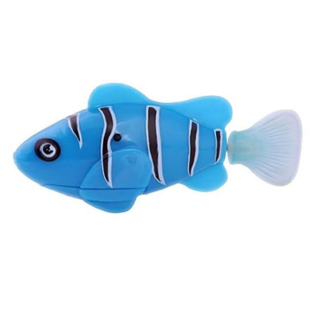 The Elegance Store robot Blue / XS High quality Robot Fish. 1 Pc