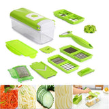 The Elegance Store Slicer 12 in 1 Magic Slicer